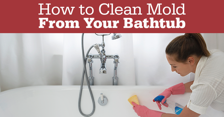 How to Clean Mold from Your Bathtub