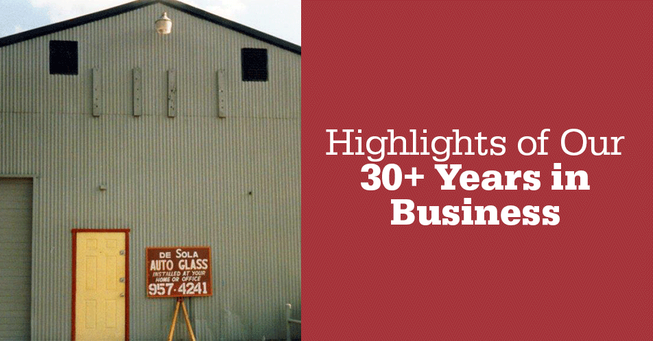 Highlights of Our 30+ Years in Business